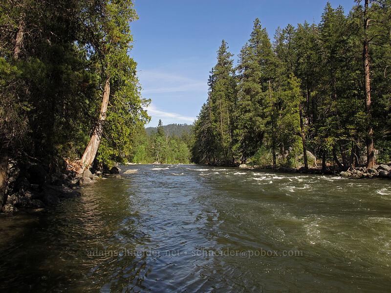 Icicle Creek [Leavenworth National Fish Hatchery, Chelan County, Washington]