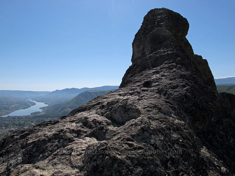 Saddle Rock high point [Saddle Rock Trail, Wenatchee, Washington]