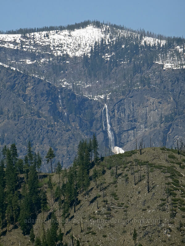 Drury Falls [Canyon Crest Trail, CDLT Mountain Home Property, Washington]