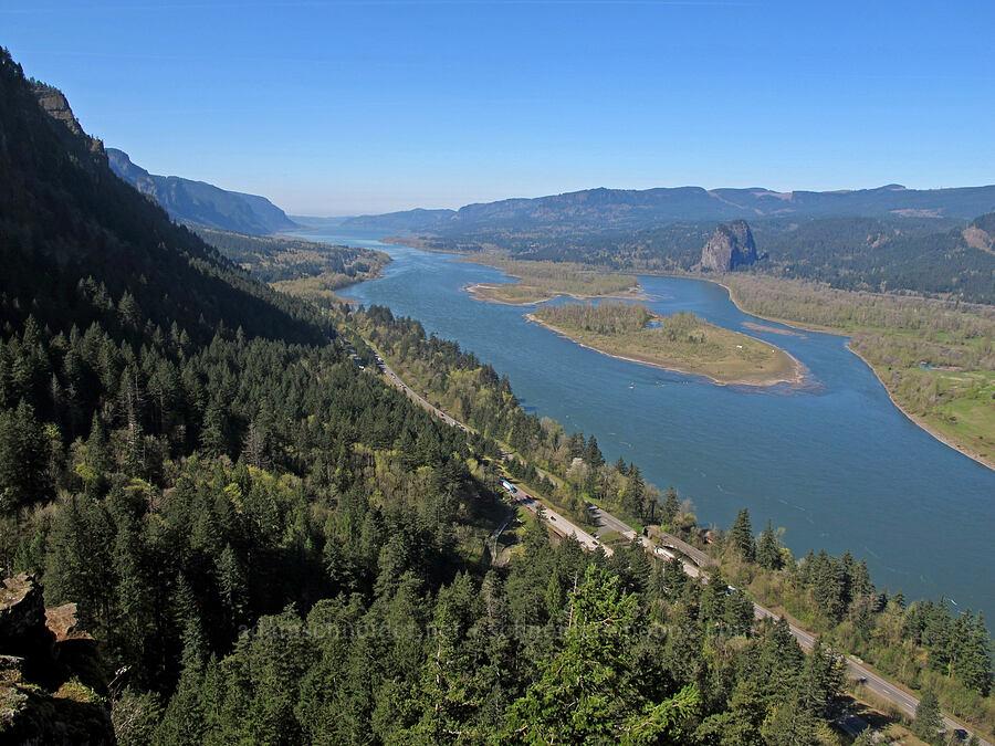 Columbia River [Munra Point Trail, Columbia River Gorge, Oregon]