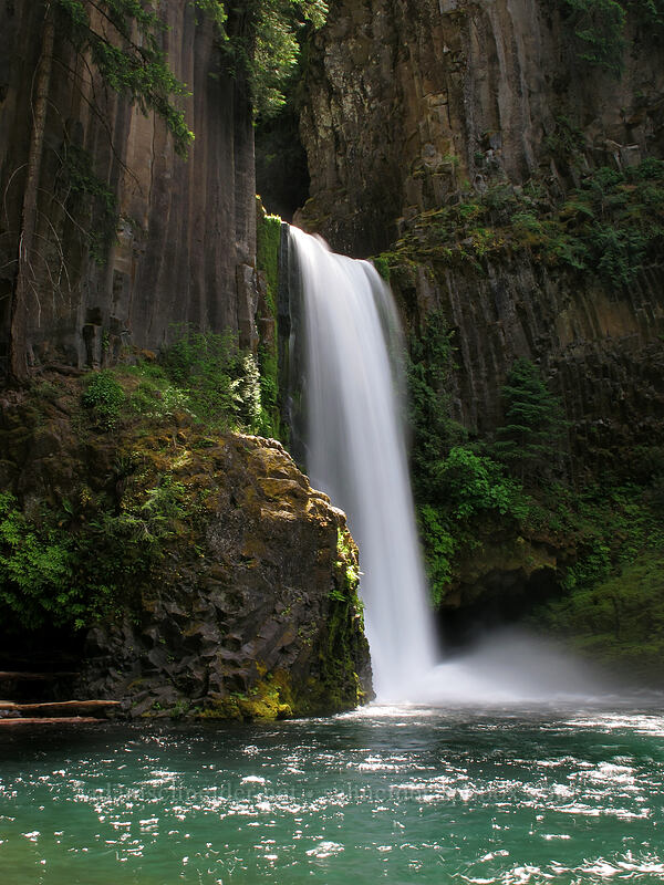 Toketee Falls [Toketee Falls Trail, Umpqua National Forest, Oregon]