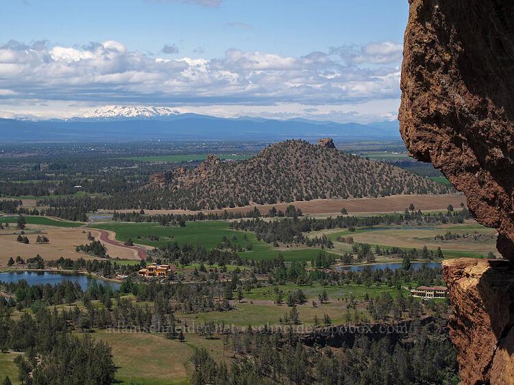 Mt. Jefferson & Coyote Butte [The Springboard, Smith Rock State Park, Oregon]