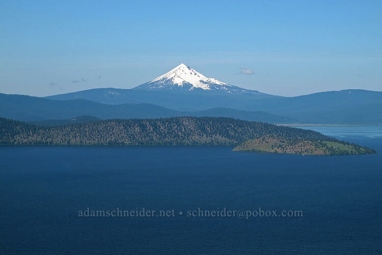 Mt. McLoughlin, Eagle Ridge, & Bare Island [Modoc Rim, Fremont-Winema National Forest, Oregon]