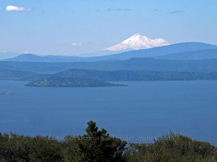 Mt. Shasta & Upper Klamath Lake [Modoc Rim, Fremont-Winema National Forest, Oregon]