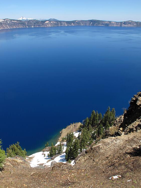 very blue water [Garfield Peak Trail, Crater Lake National Park, Oregon]