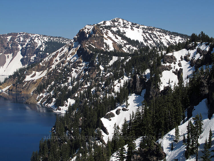 Garfield Peak [Discovery Point, Crater Lake National Park, Oregon]