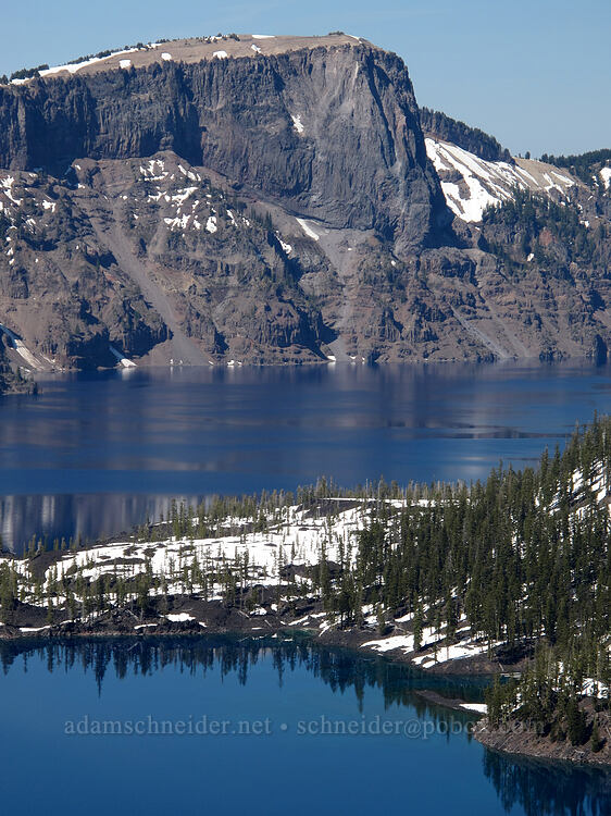 Llao Rock [Discovery Point, Crater Lake National Park, Oregon]