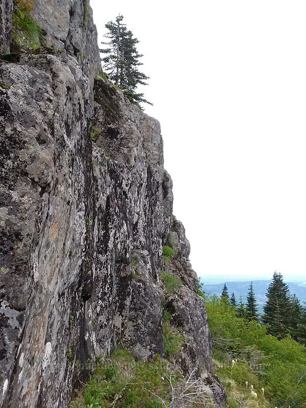 Sturgeon Stairway? [Sturgeon Rock, Gifford Pinchot National Forest, Washington]
