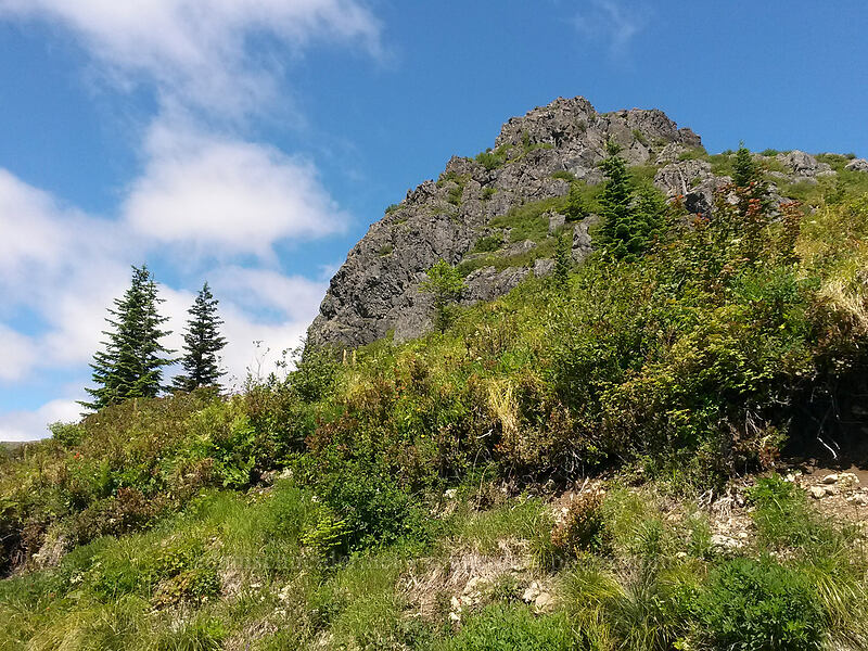 Pyramid Rock [Grouse Vista Trail, Gifford Pinchot National Forest, Washington]