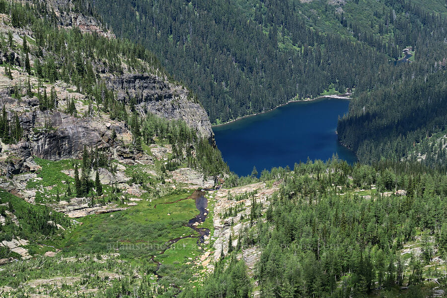 Granite Lake [Snowshoe Peak-Bockman Peak ridge, Cabinet Mountains Wilderness, Montana]