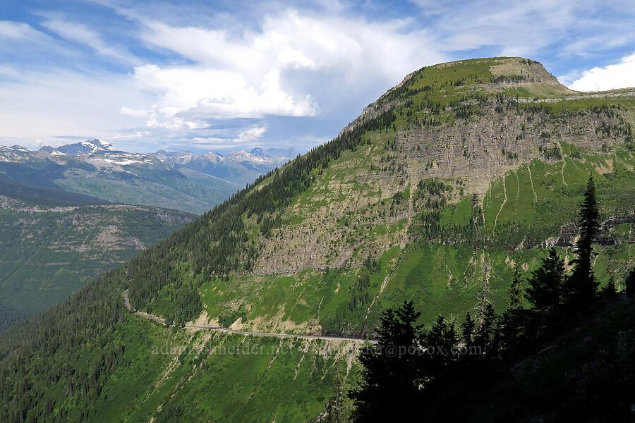 Haystack Butte [Highline Trail, Glacier National Park, Montana]