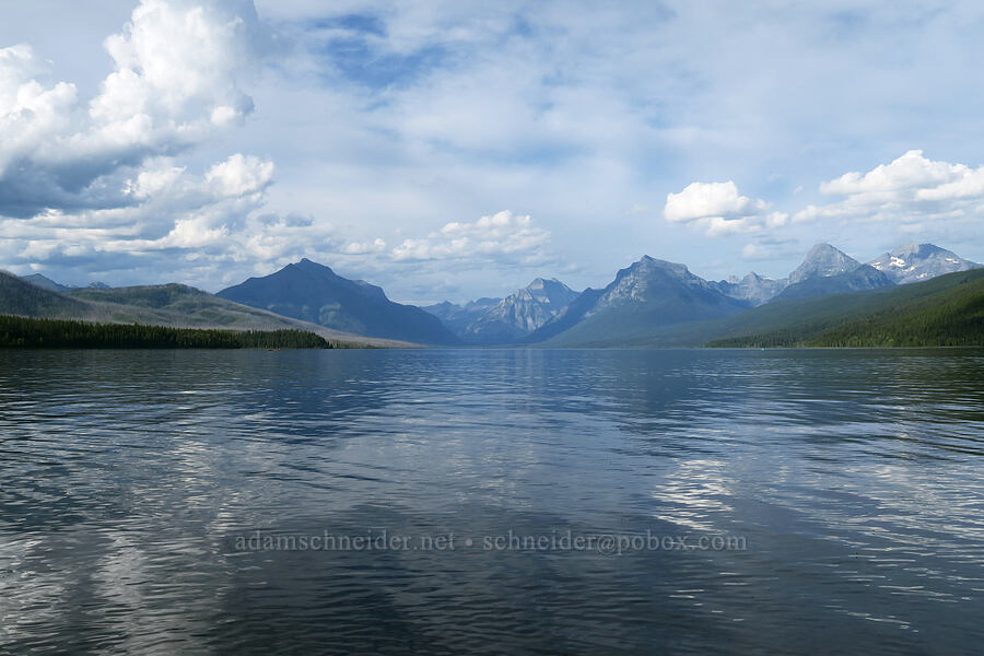 Lake McDonald [Apgar Village, Glacier National Park, Montana]