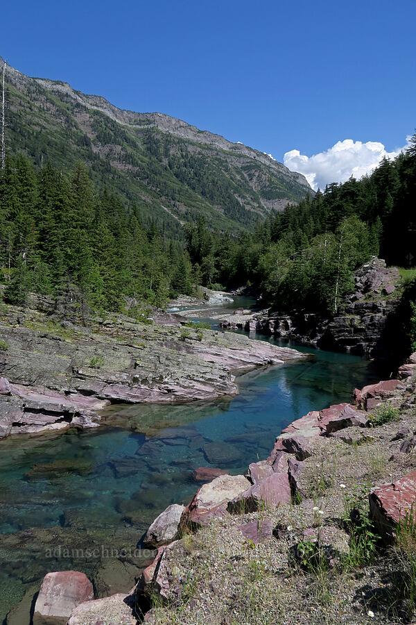 McDonald Creek [Red Rock Point, Glacier National Park, Montana]