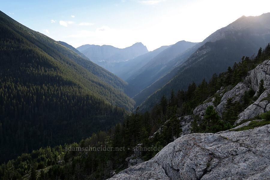 Carthew Creek Valley [Bear's Hump Trail, Waterton Lakes National Park, Alberta, Canada]