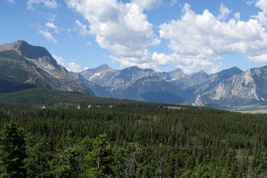 mountains around Waterton Lakes [Highway 6, Waterton, Alberta, Canada]