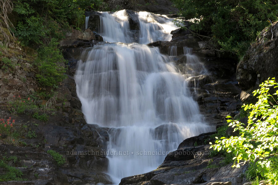 Twin Falls [Twin Falls Trail, Glacier National Park, Montana]