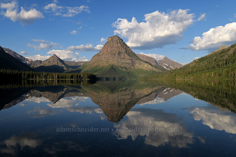 Sinopah Mountain & Two Medicine Lake [Two Medicine, Glacier National Park, Montana]