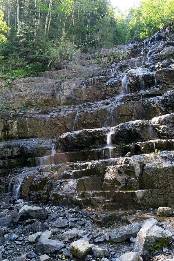 Silver Staircase Falls [Highway 2, Flathead National Forest, Montana]