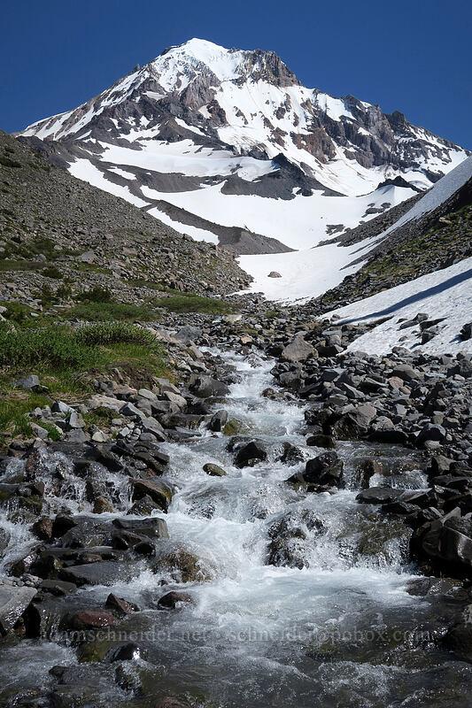 Mount Hood & Glisan Creek [Glisan Creek, Mt. Hood Wilderness, Oregon]