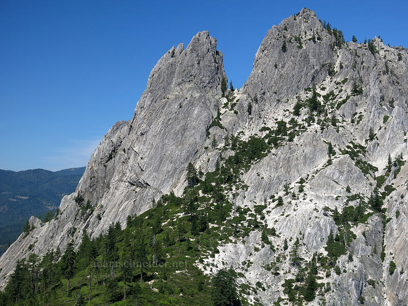 Mt. Hubris [Castle Dome, Castle Crags Wilderness, California]