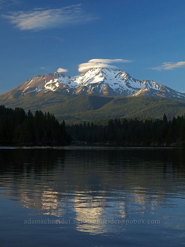 Mt. Shasta & Lake Siskiyou [Lake Siskiyou, Mount Shasta, California]
