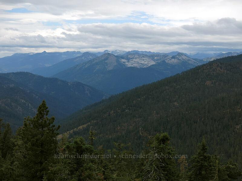Trinity Alps [Parks Creek Trailhead, Shasta-Trinity National Forest, California]