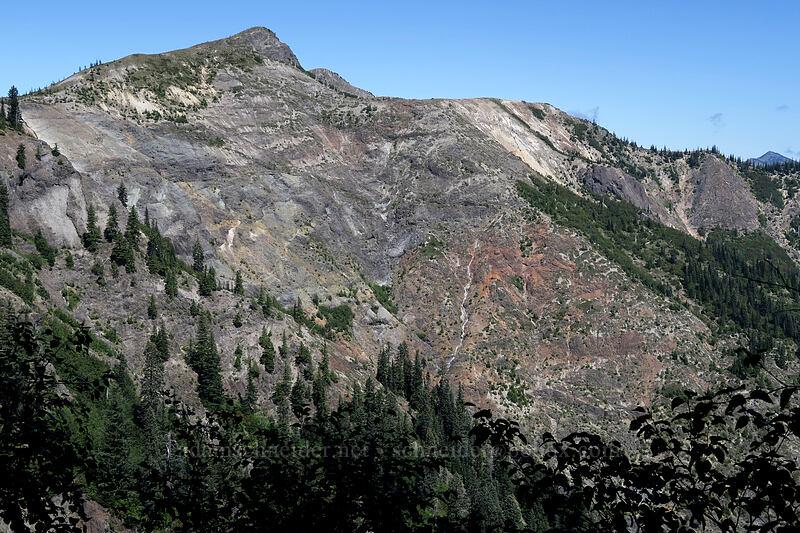 Peak 4666 [Ape Canyon Trail, Mt. St. Helens National Volcanic Monument, Washington]