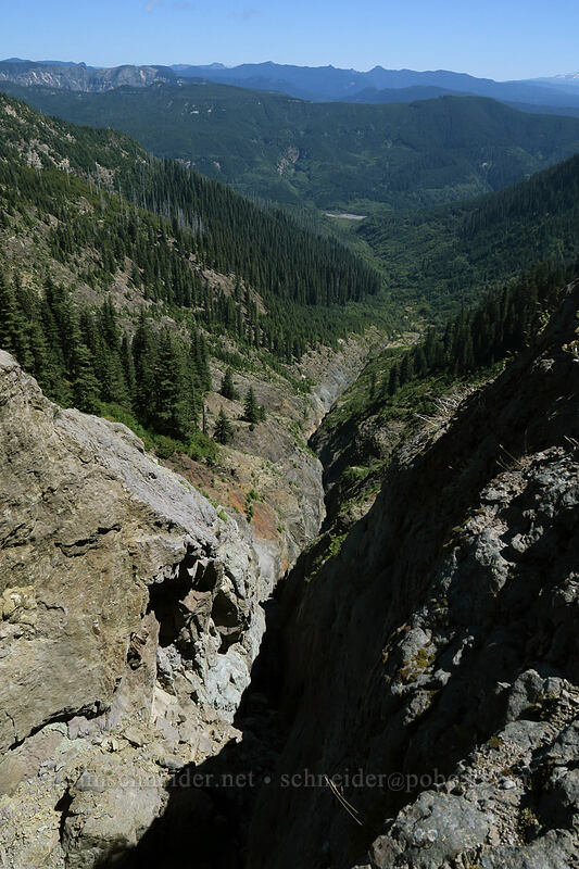 Ape Canyon [Ape Canyon Trail, Mt. St. Helens National Volcanic Monument, Washington]