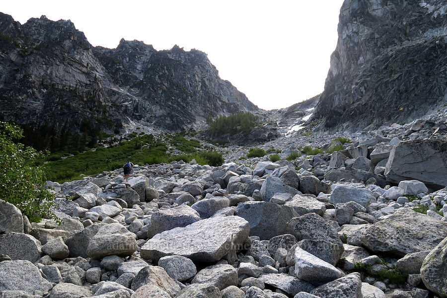 Aasgard Pass [below Aasgard Pass, Alpine Lakes Wilderness, Washington]