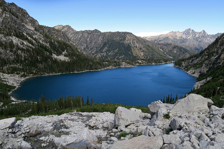 Colchuck Lake [below Aasgard Pass, Alpine Lakes Wilderness, Washington]