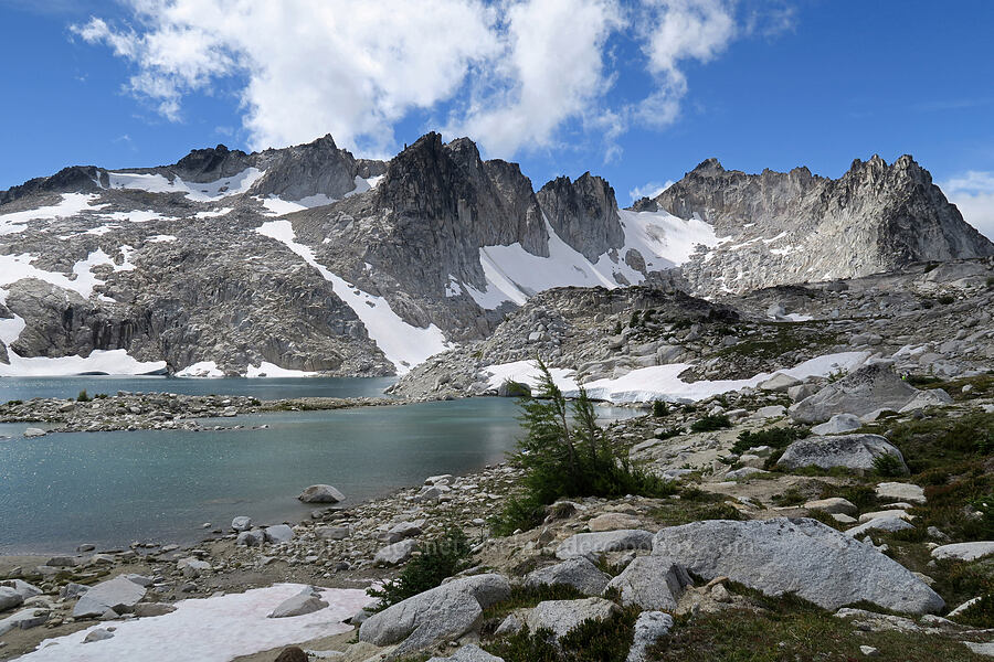 Isolation Lake & Dragontail Peak [Snow Lakes Trail, Alpine Lakes Wilderness, Washington]