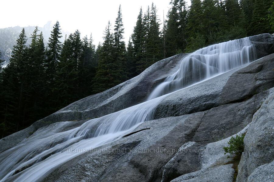 Snow Creek & granite [Snow Lakes Trail, Alpine Lakes Wilderness, Washington]
