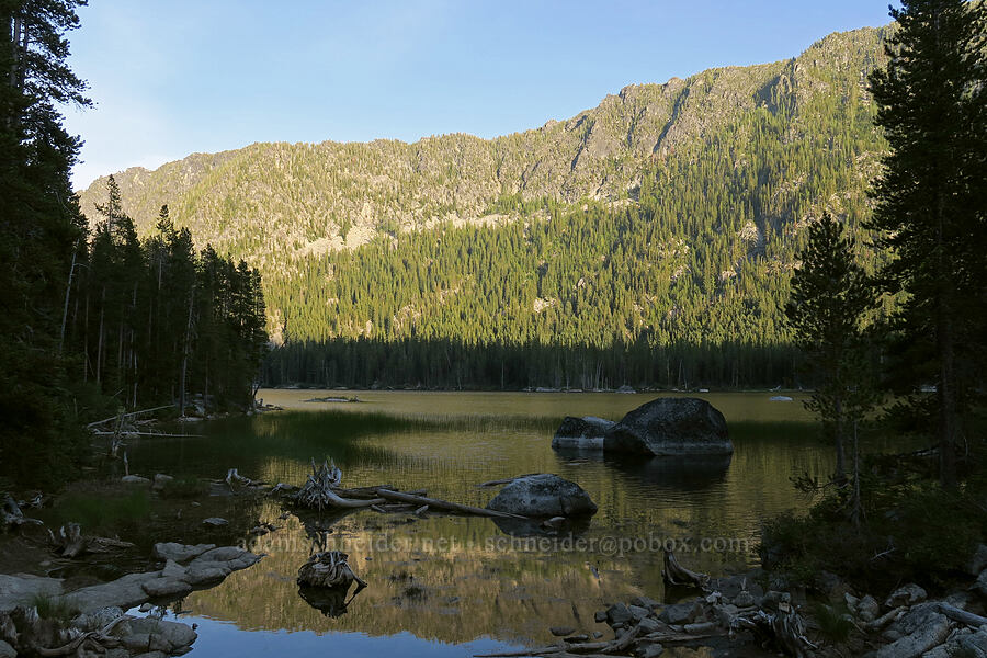 Lower Snow Lake [Snow Lakes Trail, Alpine Lakes Wilderness, Washington]