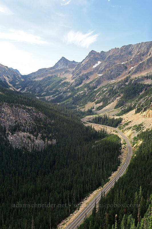 North Cascades Highway & Copper Mountain [Washington Pass Overlook, Okanogan-Wenatchee National Forest, Washington]