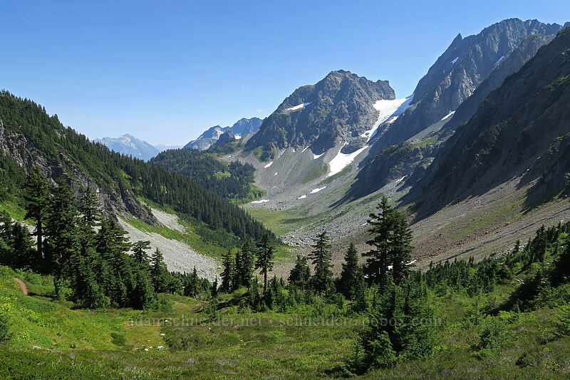 Pelton Basin [Cascade Pass, North Cascades National Park, Washington]