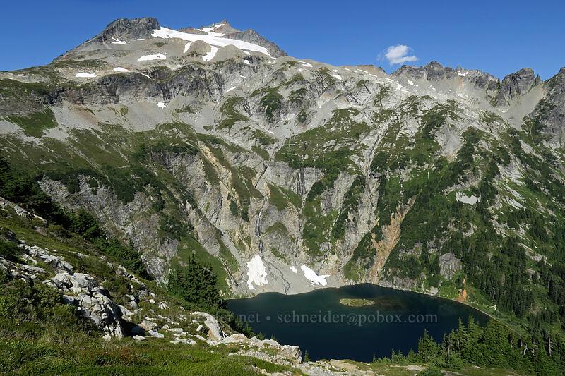 Sahale Mountain & Doubtful Lake [Sahale Arm Trail, North Cascades National Park, Washington]