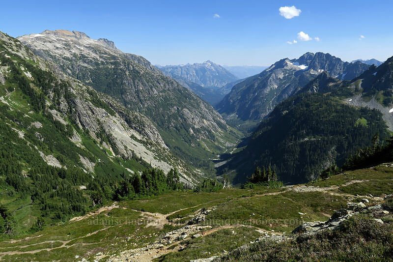 Upper Stehekin Valley [Sahale Arm Trail, North Cascades National Park, Washington]