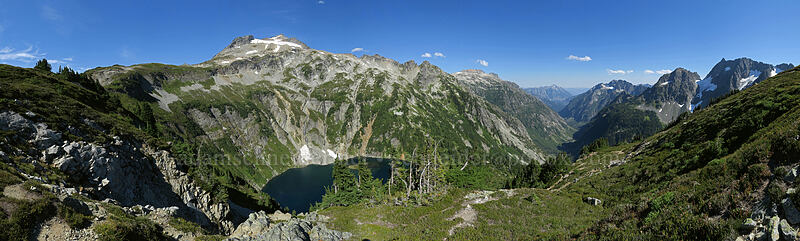 Cascade Pass panorama 3 [Sahale Arm Trail, North Cascades National Park, Washington]