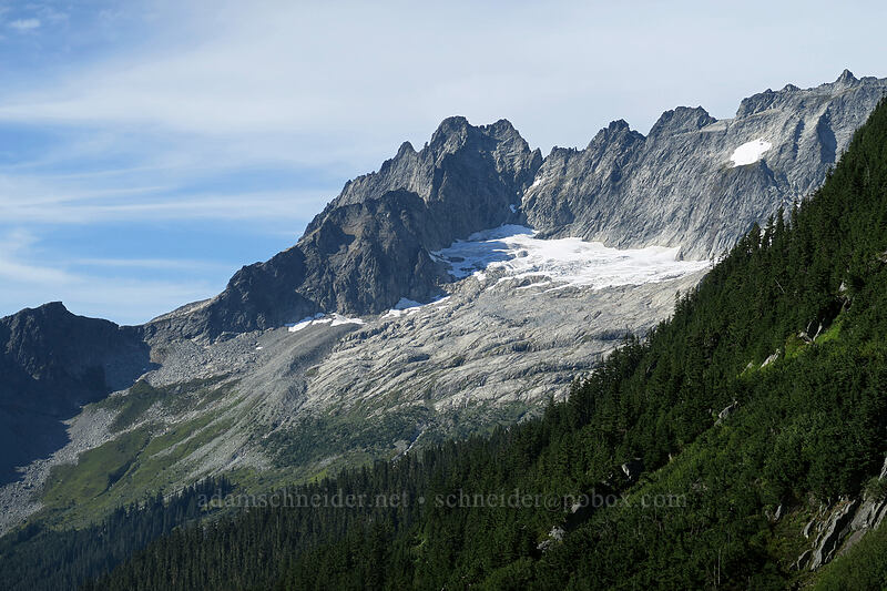 Mt. Torment & Boston Basin [Cascade Pass, North Cascades National Park, Washington]