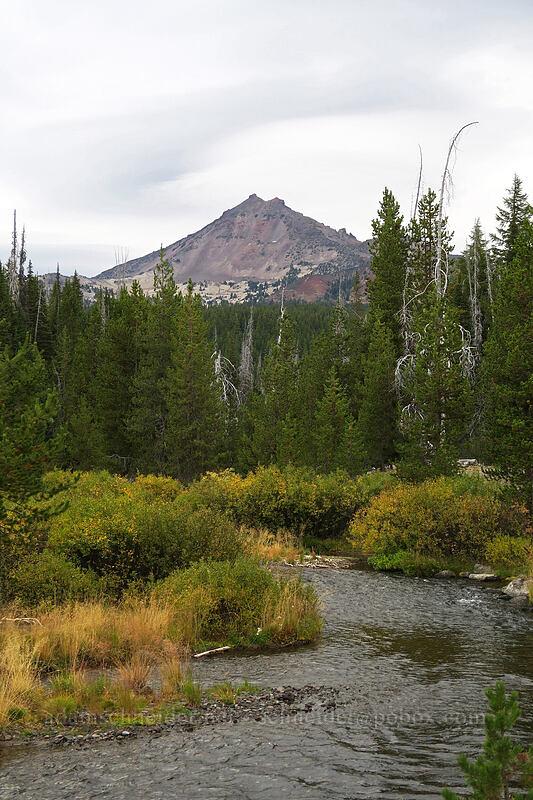 Broken Top & Fall Creek [Green Lakes Trailhead, Deschutes National Forest, Oregon]