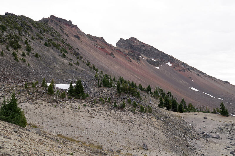 Broken Top [Broken Top climber's trail, Three Sisters Wilderness, Oregon]