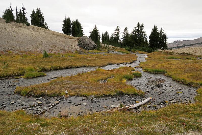 spring [below Broken Top, Three Sisters Wilderness, Oregon]