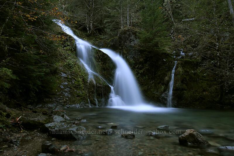 Sullivan Falls [Forest Road 2207, Opal Creek Scenic Recreation Area, Oregon]
