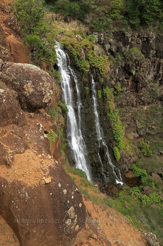 Waipo'o Falls [Canyon Trail, Waimea Canyon State Park, Kaua'i, Hawaii]