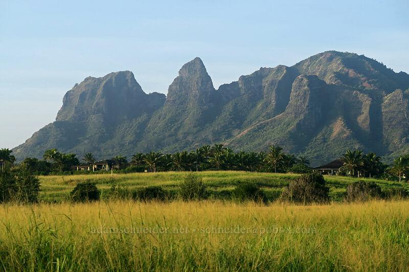 Kalalea (Anahola Mountain) [Kalalea View Drive, Anahola, Kaua'i, Hawaii]