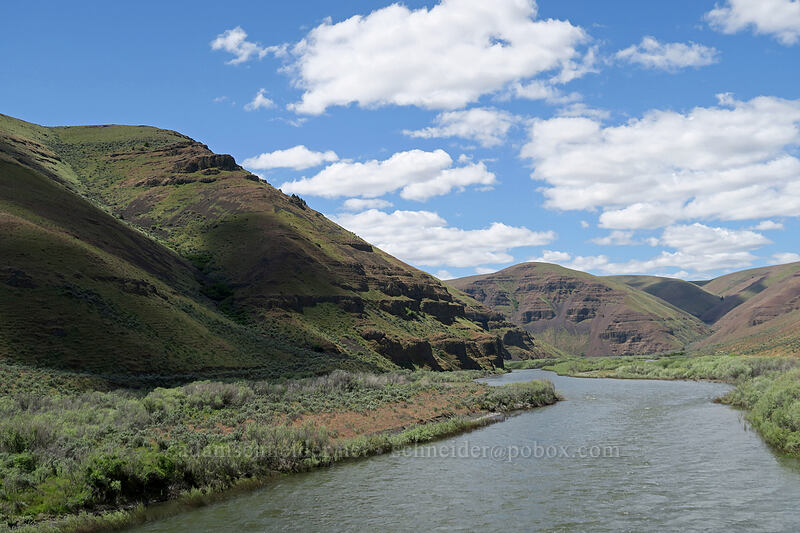John Day River [Cottonwood Bridge, Sherman County, Oregon]