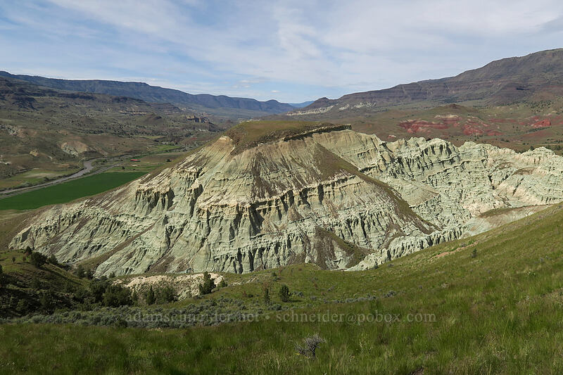 Blue Basin [Blue Basin Trail, John Day Fossil Beds National Monument, Oregon]