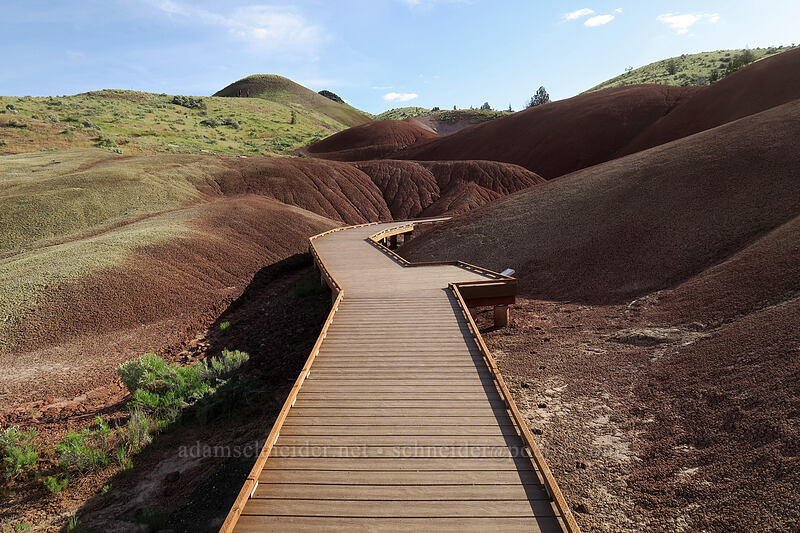 Painted Cove boardwalk [Painted Cove Trail, John Day Fossil Beds National Monument, Oregon]
