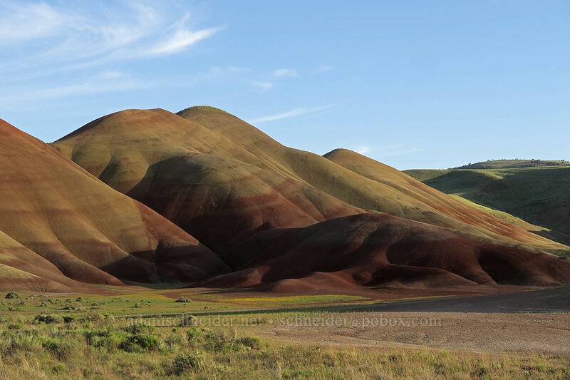 Painted Hills [Painted Hills Unit, John Day Fossil Beds National Monument, Oregon]