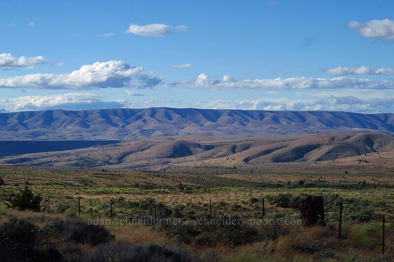 Tygh Ridge [U.S. Highway 197, Wasco County, Oregon]